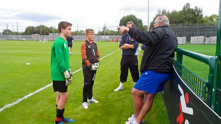 Junior Goalkeepers In Safe Hands