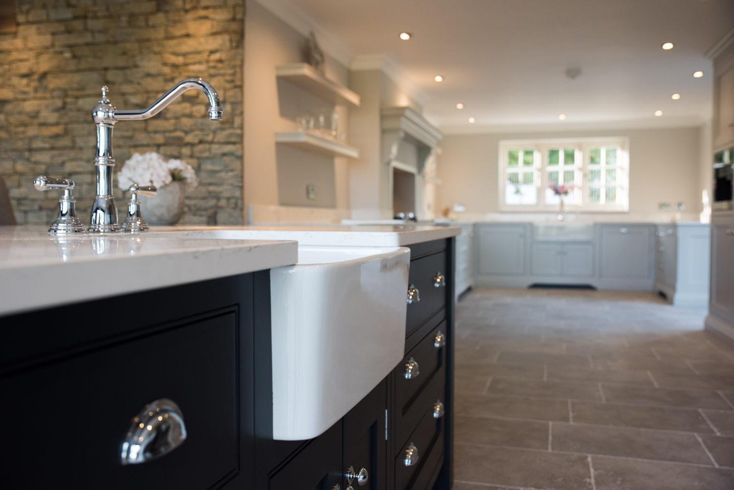 When Tony And Gemma Morgan From Cowbridge Were Looking To Design Their New  Kitchen In Their Fully Remodelled Home, They Chose Bespoke Kitchens And  Furniture ...