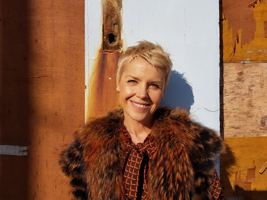 Jennifer Hobbs-Roberts in Porthcawl