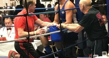 Harley Calls The Shots In Trostre Boxing Barn Stormer