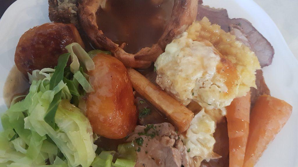 Hilary And Iain's Sunday Lunch