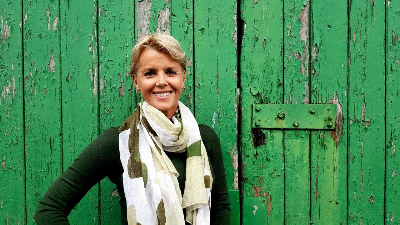 Jennifer Hobbs-Roberts Green Door