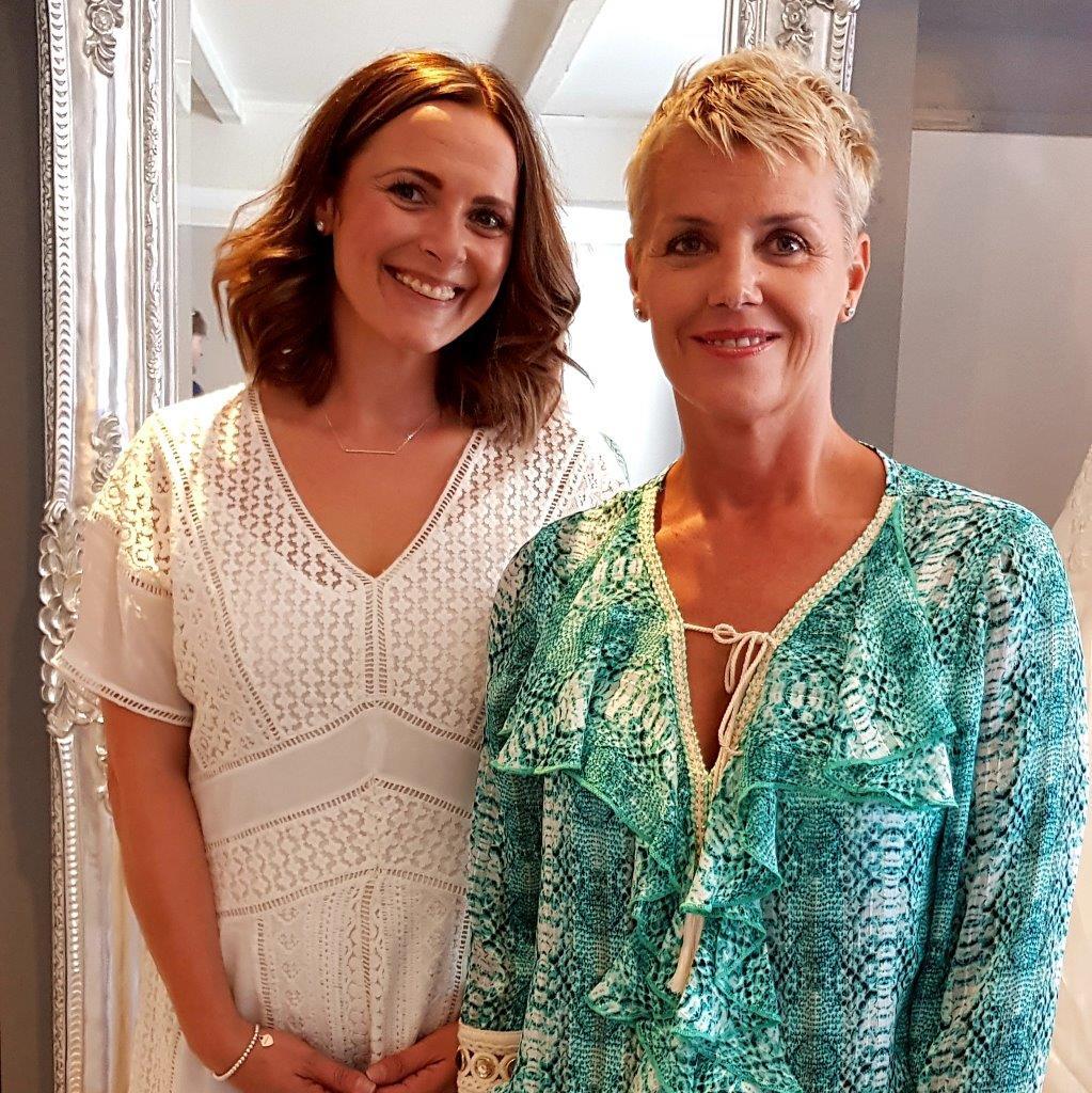 Melanie Byrne and Jennifer Hobbs-Roberts